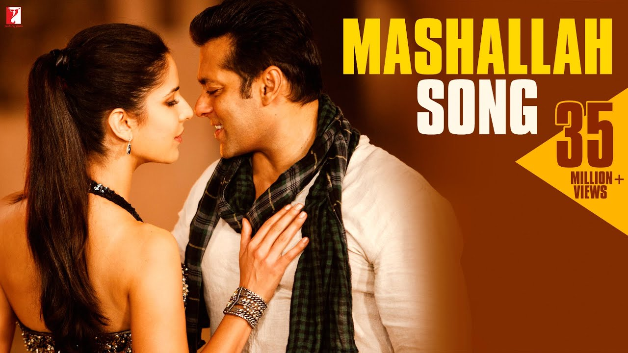 Salman Khan And Katrina Kaif In Ek Tha Tiger: Mashallah Song