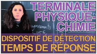 Dispositif de détection (Photodiode) : Temps de réponse - Physique - Terminale - Les Bons Profs