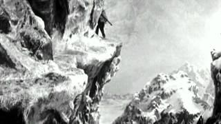 Чаплин. Золотая лихорадка. Начало фильма.