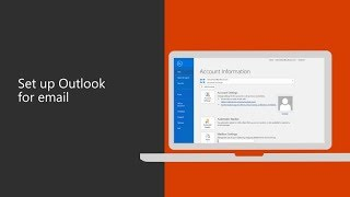 Set up Microsoft Outlook 2016 for your business email