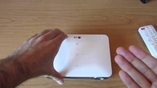 Review proyector LG Minibeam PW700 en español