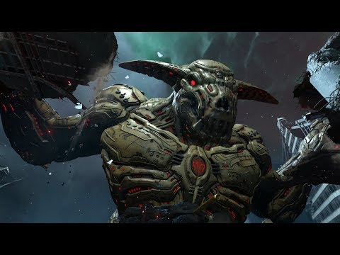 DOOM Eternal - Icon Of Sin, Final Boss Fight And Ending