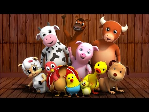ten in the bed | nursery rhymes | kids songs | 3d rhymes | childrens rhymes by Farmees