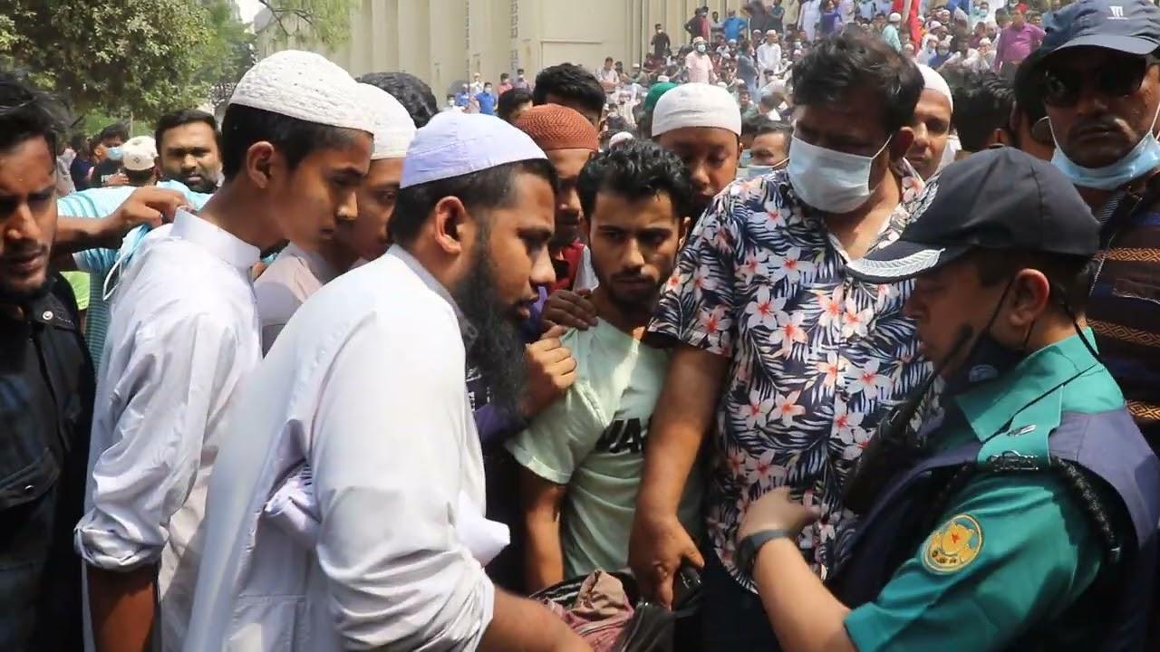 জাতীয় মসজিদে হাতেনাতে ধরা এই হুজুর পুলিশ বাহিনীর চিরুনি তল্লাশি কুমিল্লা ঘটনা নয় Bangla News Today