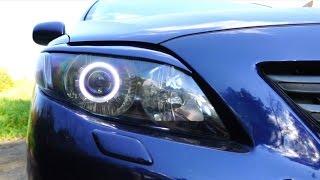 КОРОЛЛЕВСКИЙ ОБЗОР-СРАВНЕНИЕ подержанной Toyota Corolla E150 и не только её...тест-драйв, отзыв