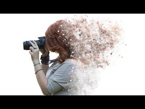 Tutorial Photoshop CS6 - effetto Disintegrazione