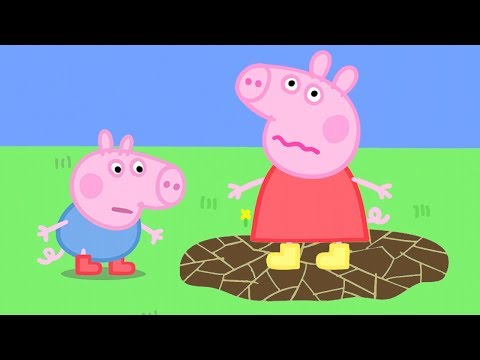 Peppa Pig Official Channel | Peppa Pig's Muddle Puddle Jump - Видео онлайн