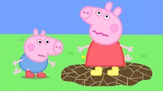 Download Peppa Pig Official Channel | Peppa Pig's Muddle Puddle Jump Mp3 and Videos