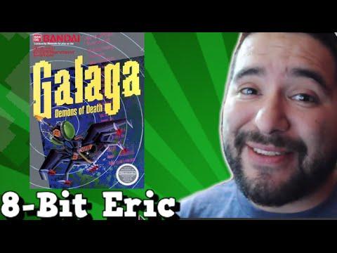 Galaga (NES) Review - 8-Bit Tidbit - 8-Bit Eric - 동영상