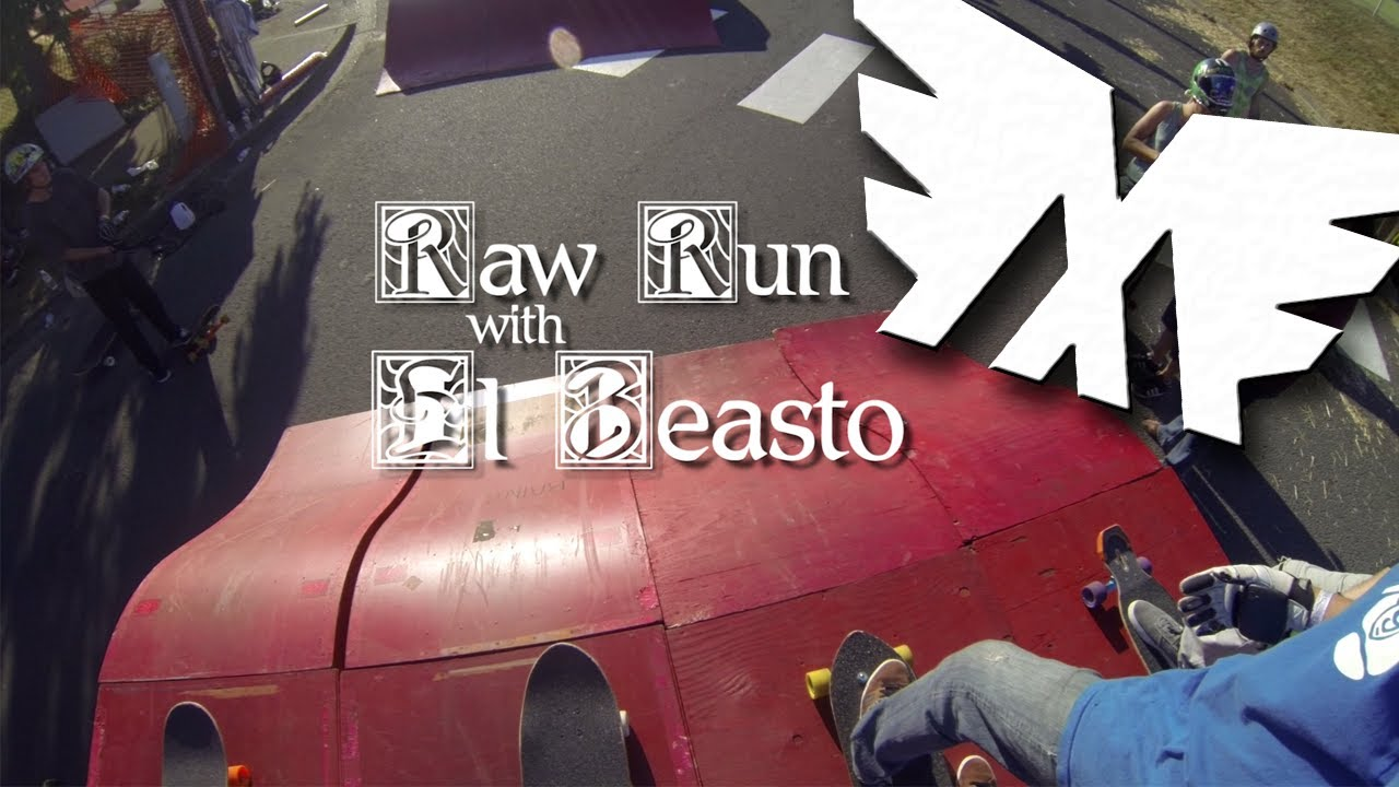 Cathlamet Raw Run with El Beasto | MuirSkate Longboard Shop