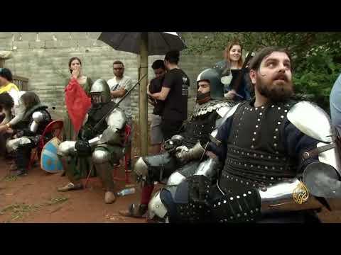 هذا الصباح-مبارزات العصور الوسطى.. رياضة جديدة بالبرازيل  - 10:22-2018 / 1 / 18