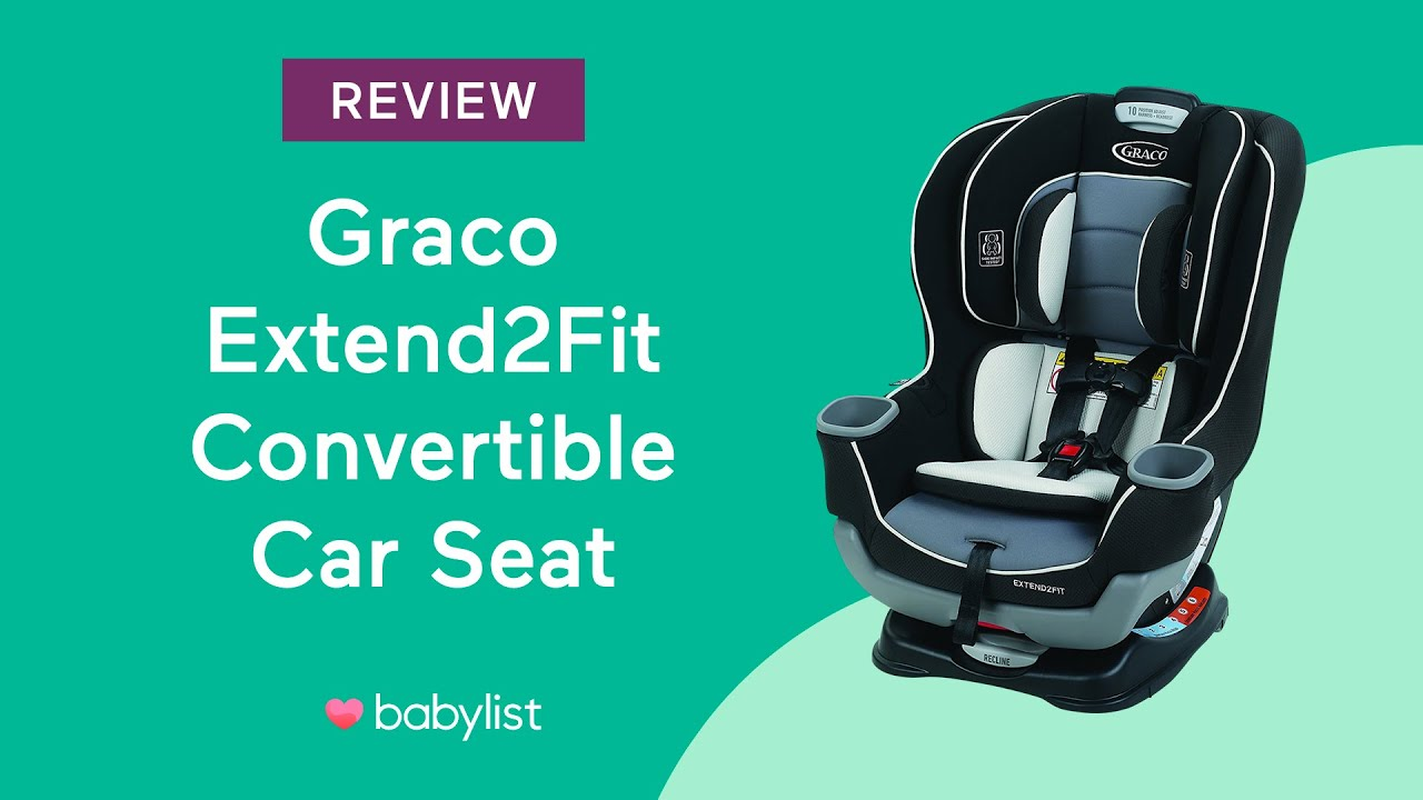 Graco Extend2fit Convertible Car Seat Review