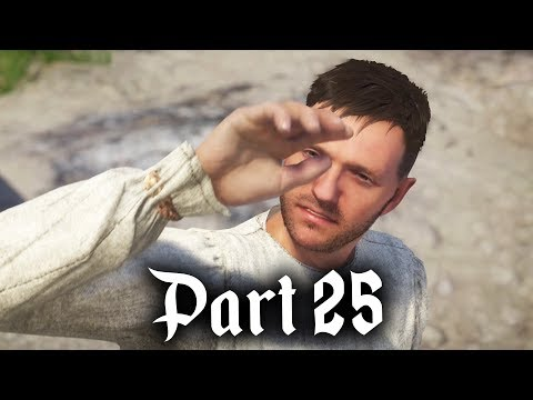 MONK HENRY - Kingdom Come Deliverance Gameplay Walkthrough Part 25
