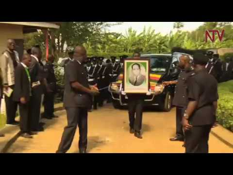 Dignitaries attend send-off at Byanyima home in Ruti