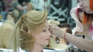 Волны построение волны на длинных волосах Женские прически