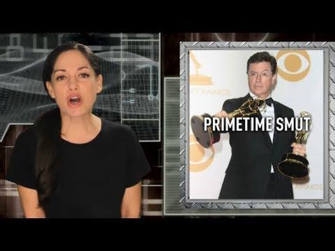 Stephen Colbert asks world's most un-self-aware question ever
