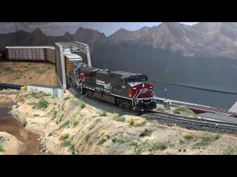 Southern Pacific Freight HO Scale Mountain Layout