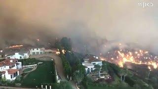שריפות הענק בקליפורניה: