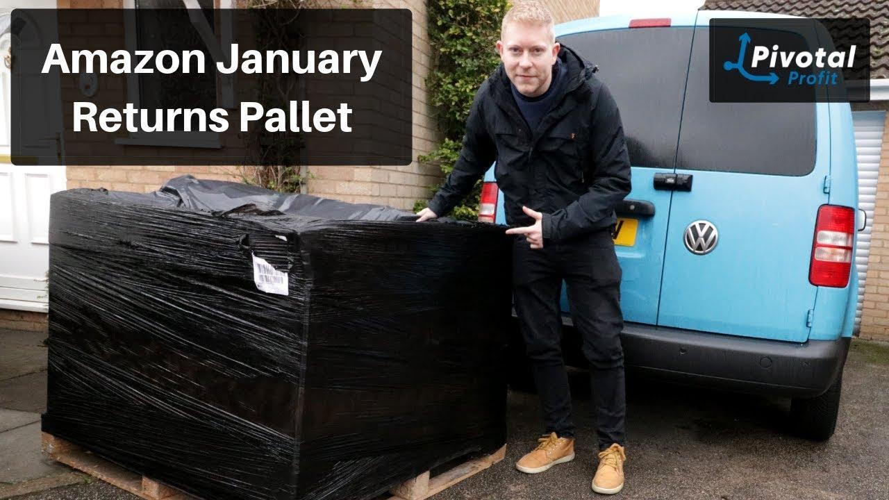 Amazon January Returns Pallet (My Returns) - Amazon FBA UK - Retail Arbitrage and Reselling