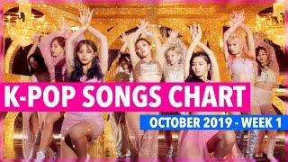 (TOP 100) K-POP SONGS CHART | OCTOBER 2019 (WEEK 1)