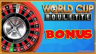 Bookies World Cup Roulette with BONUS!!