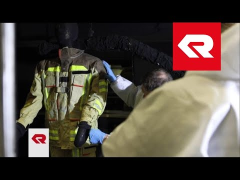 FIRE FLEX protective suit - Thermo-Man test