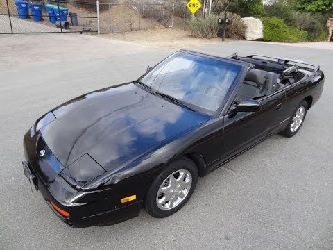 94 Nissan 240SX Silvia Limited Edition S13 Rare Convertible First Generation For Sale
