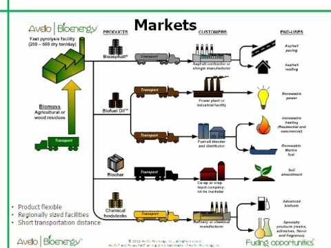 Biomass to Biochar and Fast Pyrolysis Oil Fractions