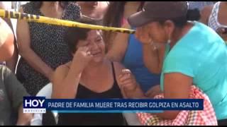 Víctor Larco: Joven padre muere tras recibir golpiza en asalto