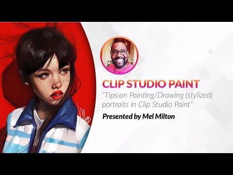 clip-studio-paint-webinar-/-drawing-stylized-portraits-with-mel-milton