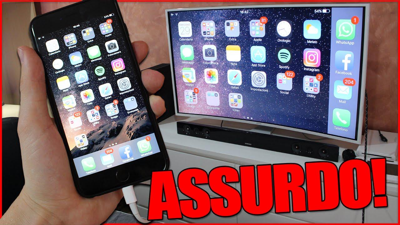 Collegare applicazioni iPhone