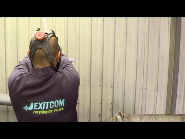 Exitcom Reycyling Floresan Lamba Geri Kazanım