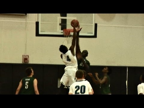 Don't Make 7'6 Tacko Fall Mad - Liberty @ Olympia ...