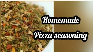 Pizza seasoning recipe in tamil  How to make pizza seasoning at home  mix herbs seasoning