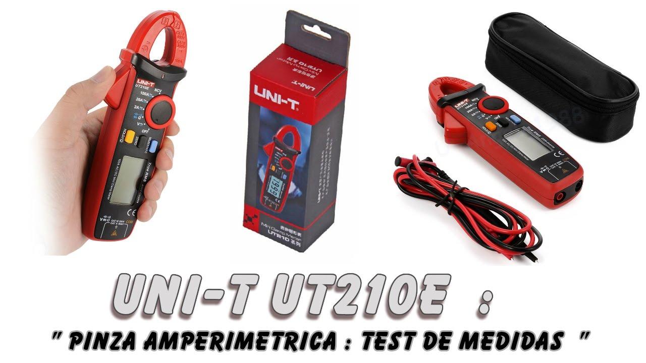 pinza amperimetrica unit 205