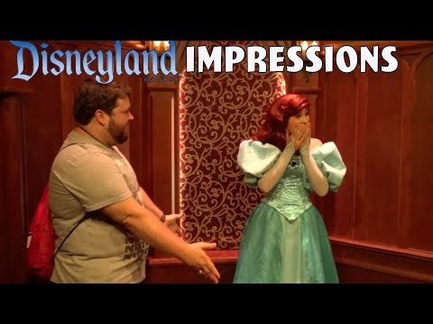 Ariel's Having Too Much Fun With This! - Disneyland Impressions