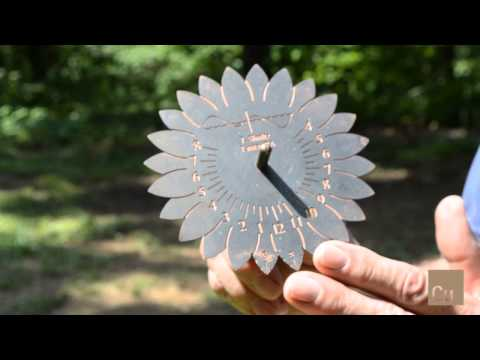 John Shultz Explains How A Sundial Works