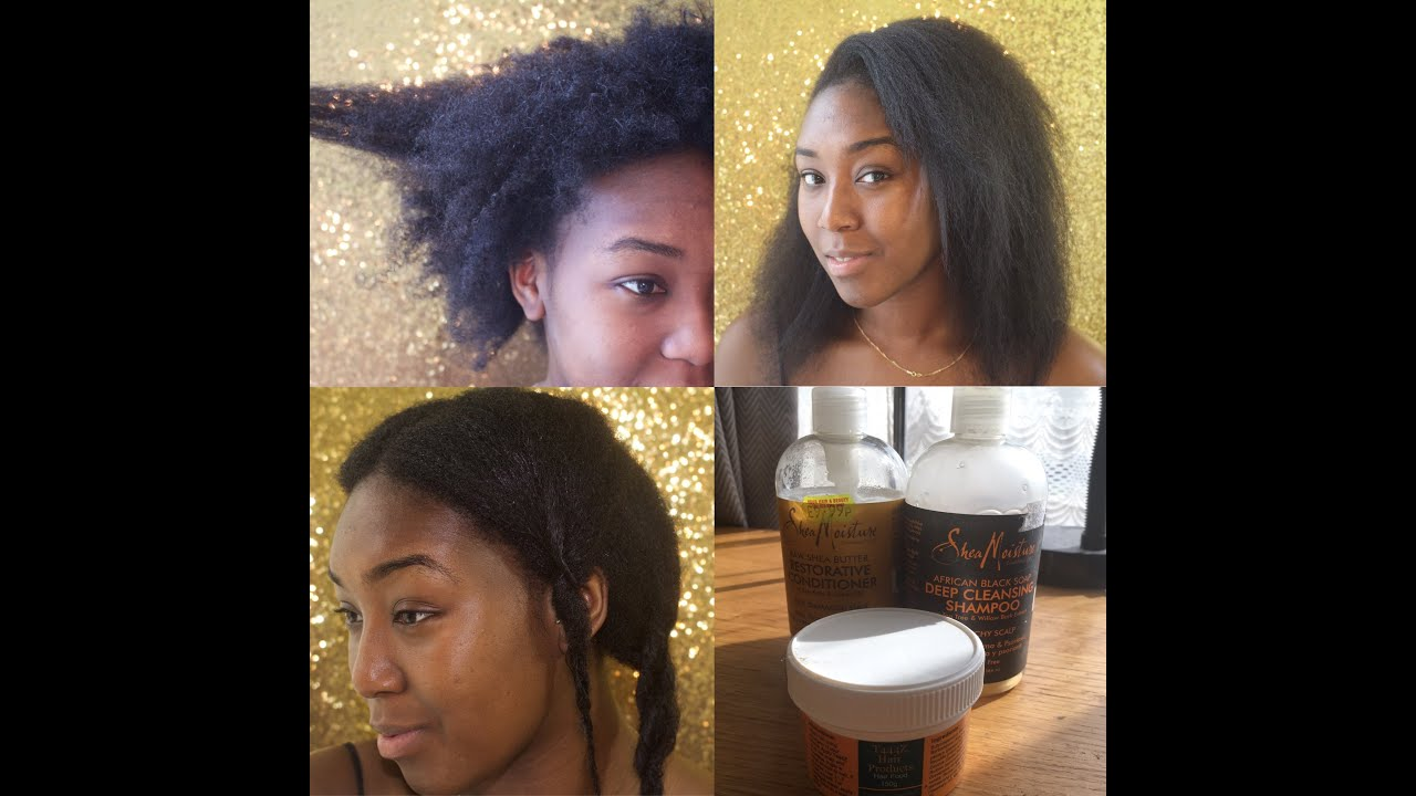 Natural Hair Journey 1 How To Grow 4c Hair Dry