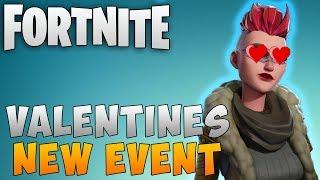 "Fortnite New Event ""Valentines Day Event"" Fortnite Save the World Update ""Fortnite Update Info"""
