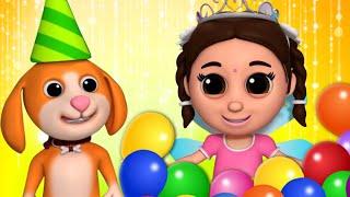Pinky Ka Birthday | Birтhday Song In Hindi | Kids Rhymes In Hindi | जन्मदिन कि शुभ कामनाएं
