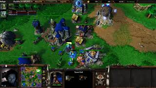 fly (Orc) vs Infi (HU) - WarCraft 3 - Bloodmage First? - WC2585