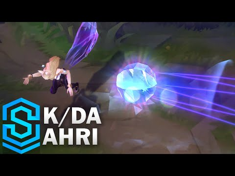 K/DA Ahri (2020) Skin Spotlight - League of Legends