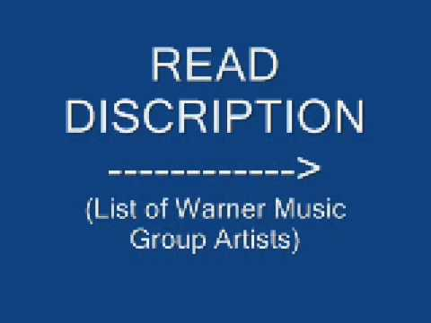 List of Warner Music Group Artists