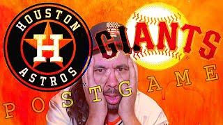 SF Giants vs Houston Astros GAME 1 Postgame Show (Oracle Park)