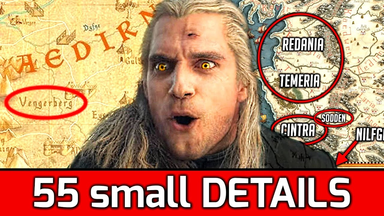 55 Small Details You Probably Missed in The Witcher Show by Netflix thumbnail