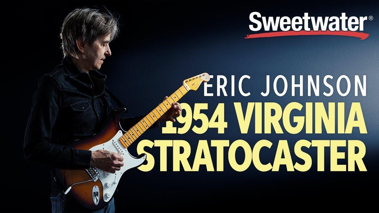 """Eric Johnson demos his 1954 """"Virginia"""" Stratocaster"""