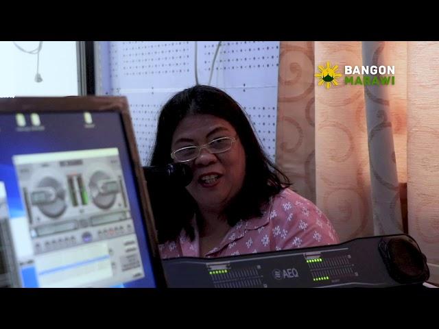 [04.23.2019] BANGON MARAWI, BANGON RANAO RADIO PROGRAM WITH DEPARTMENT OF TRADE AND INDUSTRY