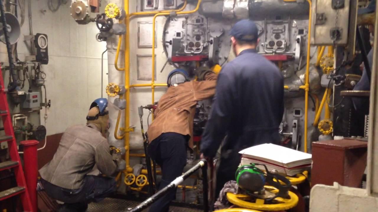 Lighting the Boiler on USS Bataan (LHD-5) & Lighting the Boiler on USS Bataan (LHD-5) - YouTube