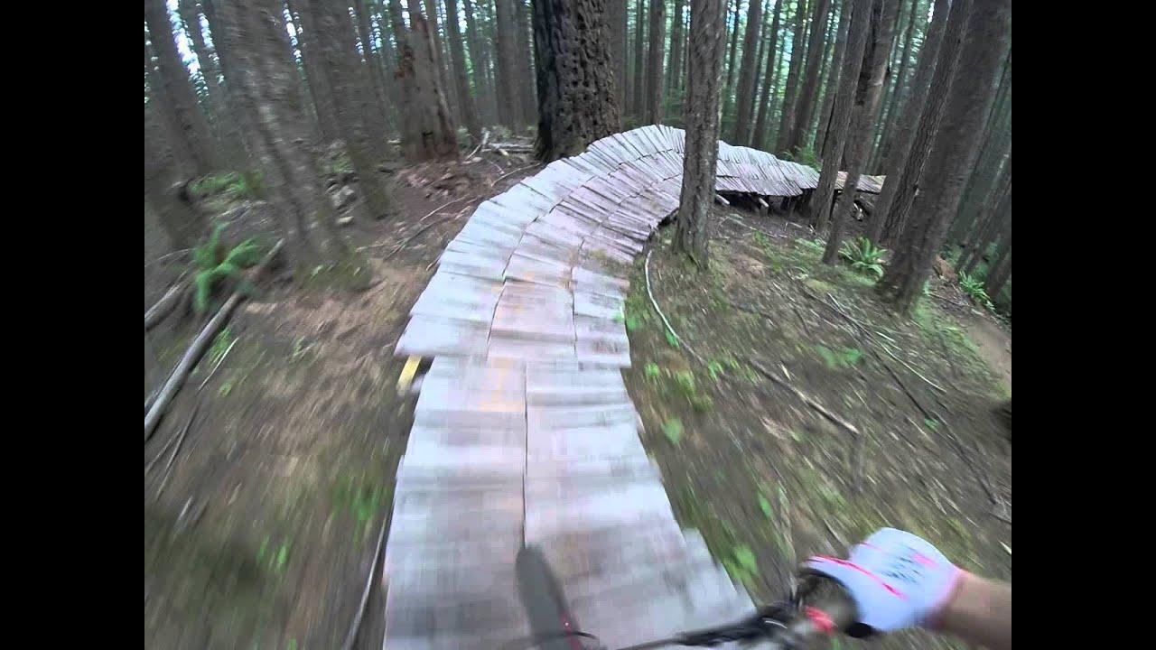 Step Up Road Gap Blackrock Mountain Bike Park Youtube