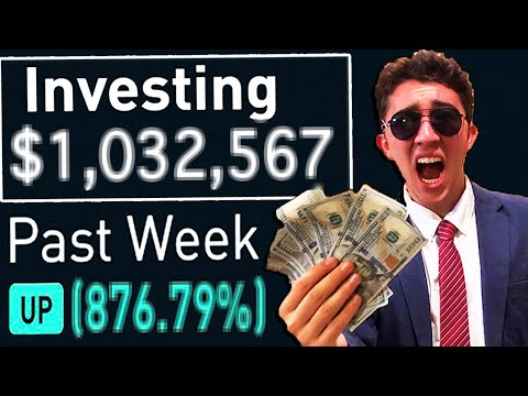 I Gambled $10,000 In The Stock Market For 30 Days!